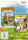 2in1: Meine Tierpension & Meine Tiersprechstunde (Software Pyramide) (Nintendo WII) für 22,00 Euro