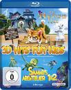 3D Hits für Kids: Das magische Haus / Sammys Abenteuer / Sammys Abenteuer 2 Bluray Box (BLU-RAY) für 42,99 Euro