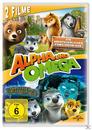 Alpha und Omega - Ein abenteuerlicher Familienurlaub & Der Geist der Säbelzahnhöhle (DVD) für 8,99 Euro