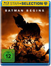 Batman Begins Star Selection (BLU-RAY) für 9,99 Euro
