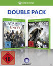Big Hit Pack: Assassin's Creed Unity & Watch Dogs (Xbox One) für 59,99 Euro