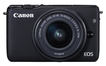 Canon EOS M10 Systemkamera 7,5cm/3'' 18MP+ EF-M 15-45mm f/3.5-6.3 IS STM für 366,00 Euro