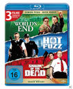 Cornetto Trilogie: The World's End , Hot Fuzz , Shaun of the Dead Bluray Box (BLU-RAY) für 29,99 Euro