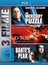 Das Mercury Puzzle & D-Tox & Dante's Peak (BLU-RAY) für 29,99 Euro