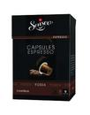 Douwe Egberts Senseo Espresso Forza Aromen von Eiche und Süßholz Schwarz,Braun für 2,69 Euro