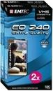 Emtec Video-Kassette VHS E-240 2er Pack für 18,99 Euro