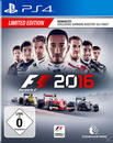 F1 2016 Limited Edition (PlayStation 4) für 59,99 Euro