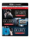 Fifty Shades of Grey 1-3 Movie Edition (4K Ultra HD BLU-RAY + BLU-RAY) für 49,99 Euro