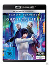 Ghost in the Shell - 2 Disc Bluray (4K Ultra HD BLU-RAY + BLU-RAY) für 29,99 Euro