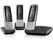 Gigaset C430A Trio schnurloses Telefon mit Anrufbeantworter drei Mobilteile für 89,99 Euro