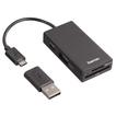 00054141 USB-2.0-OTG-Hub/Kartenleser für Smartphone/Tablet/Notebook/PC