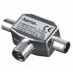 Hama 00122469 Antennen-Verteiler Koax-Kupplung - 2 Koax-Stecker für 9,99 Euro