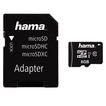 Hama 00123971 microSDHC 8GB Class 10 UHS-I 45MB/s + Adapter/Action-Cam für 9,99 Euro