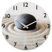 """Hama 00136216 Wanduhr """"Sand mit Stein"""" geräuscharm Glas für 24,99 Euro"""