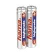 Hama 2x AAA NiMH Batteries für 5,49 Euro