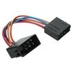 Hama 00045636 Kfz-Adapter ISO - ISO für Audi/Opel/VW für 10,99 Euro