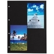 Hama Card pages for ring-binder photo albums A4, Black für 34,99 Euro