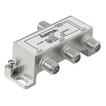 Hama 00044124 Breitband-Kabelverteiler 3-fach voll geschirmt für 10,99 Euro