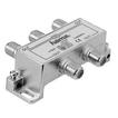 Hama 00044125 Breitband-Kabelverteiler 4-fach voll geschirmt für 15,99 Euro
