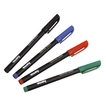 CD/DVD Marker, set of 4 pieces, black-red-blue-green für 3,29 Euro