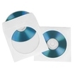 CD/DVD Paper Protection Sleeves, white, pack of 25 für 2,79 Euro
