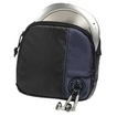 CD Player Bag for Player and 3 CDs, black/blue für 7,49 Euro
