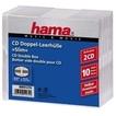 Hama 00051274 CD-Leerhülle Slim Double 10er-Pack für 7,99 Euro