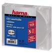 CD Slim Empty Box, pack 5, transparent für 3,49 Euro