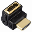00122232 High Speed HDMI™-Winkeladapter Stecker - Kupplung 90°