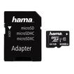 Hama 00124152 microSDXC 64GB Class 10 UHS-I 80MB/s + Adapter/Foto für 14,49 Euro