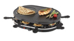 Korona 45000 Raclette-Grill 1200W für 8 Personen Antihaft-beschichtete Platte für 29,99 Euro