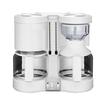 Krups KM8501 DuothekPlus Doppel-Kaffeeautomat 2x1100W 2x10 Tassen Weiß für 119,99 Euro