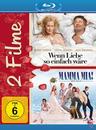 Mamma Mia! - Der Film, Wenn Liebe so einfach wäre - 2 Disc Bluray (BLU-RAY) für 9,99 Euro