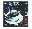 Mebus 52540 Funkwanduhr vollautomatische Einstellung MDF-Platte Kaffee-Motiv für 27,99 Euro