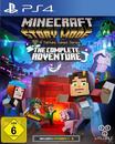 Minecraft Story Mode - The Complete Adventure (PlayStation 4) für 29,99 Euro