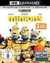 Minions - 2 Disc Bluray (4K Ultra HD BLU-RAY + BLU-RAY) für 29,99 Euro