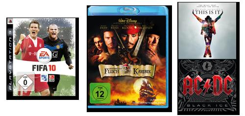 Musik,Film & Games