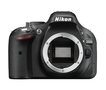 Nikon D5200 Body  Digitalkamera 7,5cm/3'' 24,1MP Full-HD für 369,00 Euro