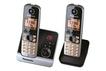 Panasonic KX-TG 6722 GB Schnurloses Telefon mit Anrufbeantworter für 44,00 Euro