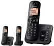 Panasonic KX-TGC223GB Schnurlostelefon mit Anrufbeantworter 18min für 59,99 Euro