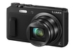Panasonic Lumix DMC-TZ58 Kompaktkamera 7,7cm/3'' 16MP 20fach WLAN Full-HD für 199,00 Euro