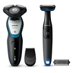 Philips S5070/92 Aqua Touch Series 5000 Herrenrasierer + gratis Bodygroom für 79,99 Euro