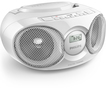 Philips AZ318W/12 CD-Player UAB AUX-IN Shuffle/Repeat Funktion für 69,99 Euro