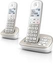 Philips XL4952S/38 schnurloses Telefon Anrufbeantworter 30min 2 Mobilteile für 79,99 Euro