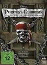 Pirates of the Caribbean 1-4 DVD-Box (DVD) für 19,99 Euro