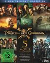 Pirates of the Caribbean 1 - 5 Bluray Box (BLU-RAY) für 39,99 Euro