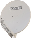 Schwaiger SPI085PW Satellitenantenne Alu-Spiegel 85cm Premiumklasse für 183,00 Euro