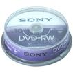 Sony 10DMW30ASP DVD-RW Rohlinge Rewritable für 12,95 Euro