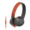 Sony MDR-ZX660AP Over-Ear Kopfhörer 40mm-Neodym-Treiber Flachkabel für 54,99 Euro