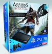 Sony Playstation 3 500GB + Assassin's Creed IV Black Flag für 269,00 Euro